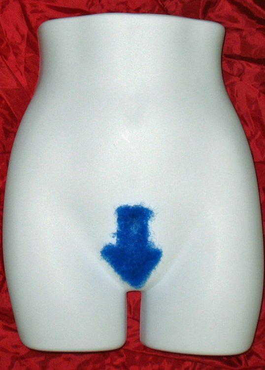 blue arrow merkin